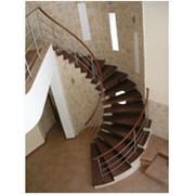 Стильная винтовая лестница фото