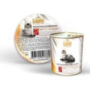 KREDO консервы для котят мясо с сердцем фото