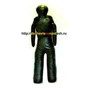 Манекен для борьбы двуногий МДБКД 2(высота 1,5 м, вес 45-55 кг, натуральная кожа) 312 фото