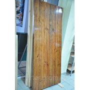 Двери деревянные авторские под старину в Тернополе