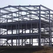 Монтаж строительных металлоконструкций