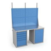 Столешница верстака серии ВЛ-150-07 + Экран ВЛ-150-Э2 фото