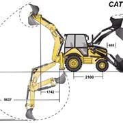 Услуги экскаватора - погрузчика CAT 428E, 2012 г.в. фото