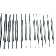 Калибры гладкие для отверстий КГО-0,3-3,5 (комплект № 2Г) фото