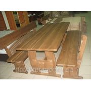 Виготовлення дерев'яних столів, стулів