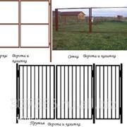Ворота и калитки садовые с доставкой по России фото