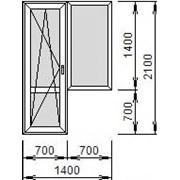 Блок балконный малый фото