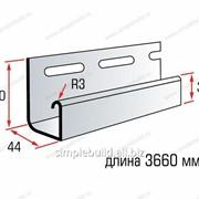 J-trim «Альта-Профиль» для сайдинга «Blockhouse»