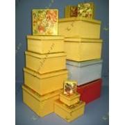 Набор шелкографических коробок фото