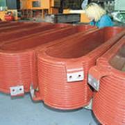 Полюсные катушки роторов синхронных электродвигателей и гидрогенераторов мощностью до 200 МВт, массой до 1150 кг фото