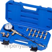 Манометр для измерения давления в тормозных системах, 14 предметов МАСТАК 120-50024C