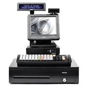 "POS-комплект 8"" TX-2100 черный, LM-2008, PD-2800, CR-4000, KB-6600 MSR, Windows POSReady 7 фото"
