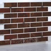 """Панель с плиткой 240х71 мм от компании """"Арт Фасад"""" фото"""