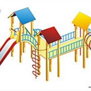 Игровая детская площадка Полюс фото