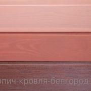 Вагонка штиль, сосна, с наружной окраской, масло  фото