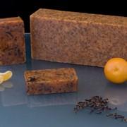 Натуральное мыло из органики с эфирными маслами мандарина и гвоздики (100 гр)