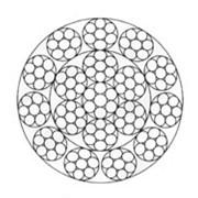 Канат специальный многопрядный некрутящийся спиральной конструкции (Германия) фото