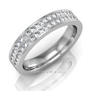 Кольца с бриллиантами A32466-1 фото
