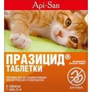 Празицид от глистов для кошек, 6 таб фото
