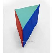 Мягкий элемент детской развивающей модульной комнаты Треугольник-1, арт. 363 фото