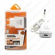 Сетевое Зарядное Устройство Remax 2.1A USB Micro фото