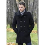 Мужское молодёжное пальто фото