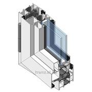 Система комбинированных профилей АПК04 с терморазрывом 24 мм окна фото