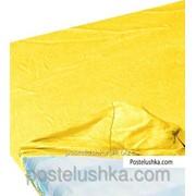Простынь на резинке Zastelli джерси 180*200+25см Желтый фото