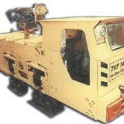 Электровоз контактный рудничный 7КРМ1 фото