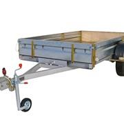 Автомобильный прицеп КМЗ 8284 40 (41) для перевозки квадрациклов, мототехники, различных грузов фото