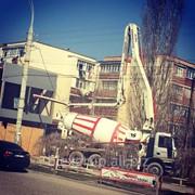 Автонасос для бетона аренда фото