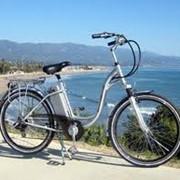 Электровелосипеды прогулочные. фото