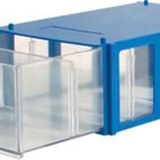 Ящик синий фото