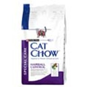 Корм Cat Chow Hairball Control для кошек для выведения комков шерсти 1,5 кг фото