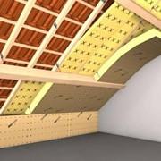 Теплоизоляция крыши фото