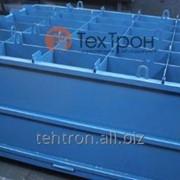 Форма, размер 170х130х70 см, для производства блоков из ячеистых бетонов фото