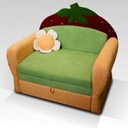 Детский раскладной диван ягодка фото