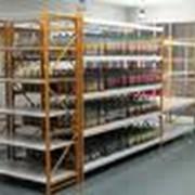Стеллажи складские для хранения продуктов питания фото