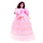Кукла коллекционная фарфор Мадмуазель Белла 60 см 574074 фото