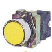 Кнопка управления NP2-BA51 без подсветки желтая 1НО IP40 (CHINT) фото