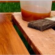 Масло льняное с пчелиным воском для пропитки деревянных поверхностей, от официального представителя компании производителя фото