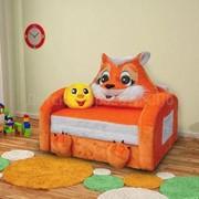 Детский диван Лисичка фото
