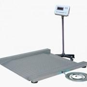 Весы платформенные с пандусом фото