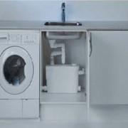 Канализационная установка Sololift+C-3 (для стиральной машины и кухонной мойки) фото