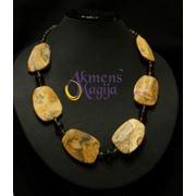 Ожерелье из натуральных камней фото