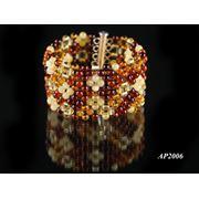Янтарные браслеты фото