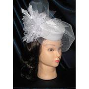 Свадебные фаты и шляпки фото
