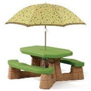 Столик со скамьями Пикник фото
