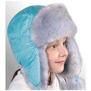 Зимняя шапка для девочек фото