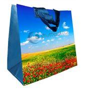 Эко-сумки из плетёного полипропилена фото